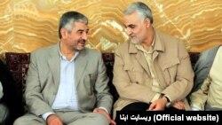Mohammad Ali Jafari (left) and Qasem Soleimani (file photo)