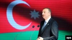 Italy -- Azerbaijan's President Ilham Aliyev at Azerbaijan National Day at Expo Milano 2015 in Milan, July 9, 2015