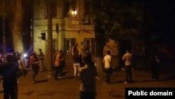 Нападение на консультво Украины в Ростове-на-Дону