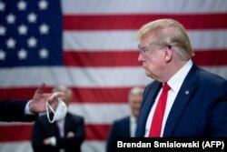 Donald Tramp odbio je nositi masku u Arizoni