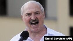 Alexander Lukashenka , Minsk, 16 avqust 2020