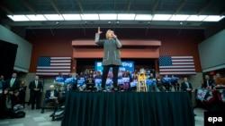 Хиллари Клинтон в Вирджинии, 29 февраля 2016 года.