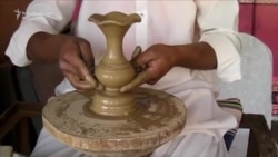 Arts And Crafts On Show In Pakistan's Peshawar