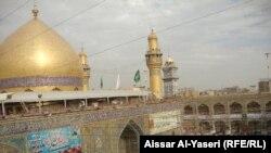 مرقد الإمام علي بن أبي طالب في النجف