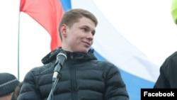 Russian activist Aleksandr Shabarchin (file photo)