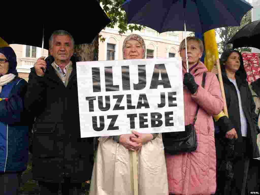 Skup podrške Iliju Jurišiću 19. oktobra 2009.