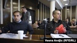 Članovi pokreta Naši i 1389 u Vrhovnom sudu Srbije, april 2012.