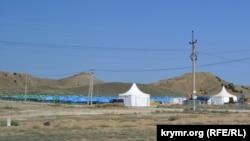 Территория фестиваля «Таврида.АРТ», Судак, бухта Капсель, Крым, 6 сентября 2021 года