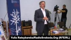 Посол Чехії в Україні Іван Почух представляє правозахисне кіно, Дніпропетровськ, 17 листопада 2013 року