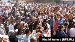 من تظاهرة 9 ايلول في بغداد