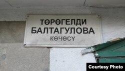 Бишкек шаарындагы көчөлөрдүн бири. Бул сыяктуу ката жазуулар калаада ондоп саналат.