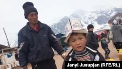 Сельские жители Кыргызстана. Архивное фото