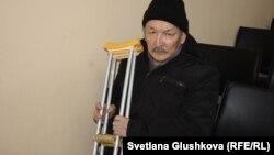 Гражданин Кыргызстана Элдияр Окомбаев. Астана, 1 марта 2016 года.