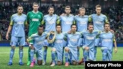 """Астана"""" футбол командасының ойыншылары."""