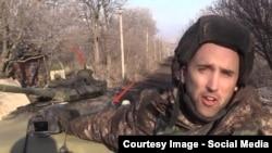 Грэм Филлипс и танк Т-72Б3 6-й ОТБр