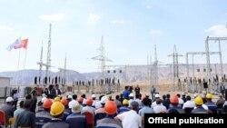 Запуск подстанции «Раззаков» в Лейлекском районе Баткенской области. 27 августа 2021 года.