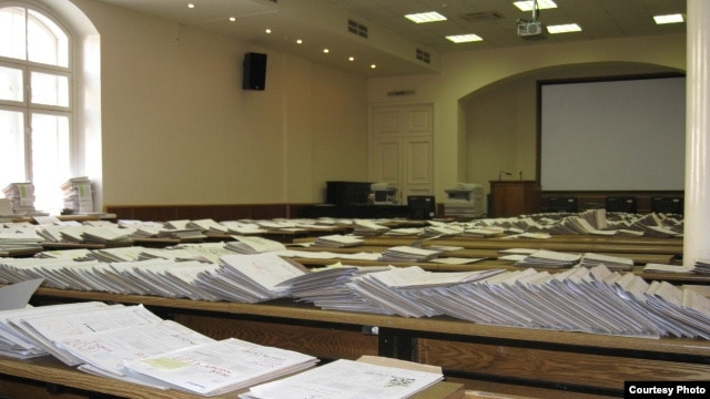 "One professor in Kazan describes the sale of academic papers as ""widespread,"" adding that it damages the ""entire education process."""