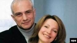 Юлія ЦІмашэнка з мужам