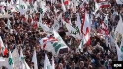 رییس جمهوری پیشین لبنان می گوید کشور در آستانه جنگ قرار دارد
