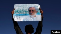 The Afghan incumbent, election officials, and even Western officials have repeatedly urged each of the candidates to steer away from smear campaigning, to no avail