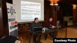 Џабир Дерала и Џелал Хоџиќ, граѓански активисти.