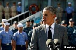 Барак Обама на последнем саммите АТЭС на Филиппинах. Ноябрь 2015 года