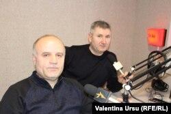 Nicolae Gârbu (stânga) și Constantin Covrig (dreapta)