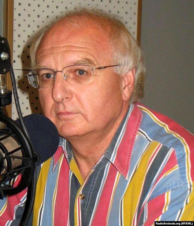 Тодішній міністр освіти і науки України Іван Вакарчук в студії Радіо Свобода. Київ, 25 липня 2009 року