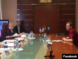 Максим Климов на заседание комиссии по проведению конкурса на замещение должности мэра Белгорода