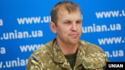 UKRAINE – One of the UNA-UNSO leaders Ihor Mazur (Topolya call sign). Kyiv, October 22, 2015