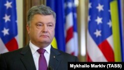 Прэзыдэнт Украіны Пятро Парашэнка