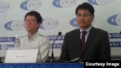 Түштүк Кореядан келген бизнесмендер маалымат жыйында. 19-март, 2015-жыл