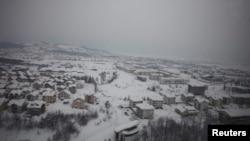 Snježno nevrijeme u BiH, februar 2012. - ilustracija