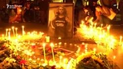 Građani Sofije odaju počast ubijenoj novinarki