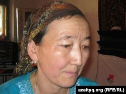Қытайдан келген оралман Жамал Қызыр. Алматы, 21 шілде 2011 жыл. (Көрнекі сурет)