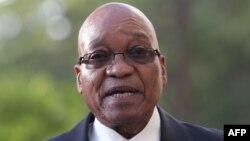 Presidenti i Afrikës së Jugut, Jacob Zuma.