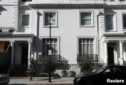 An address listed as belonging to Zamira Hajiyeva in the Mayfair district of London
