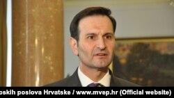 Miro Kovač, ministar vanjskih i evropskih poslova Hrvatske