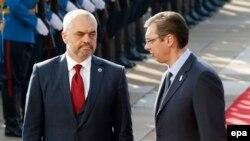 Еди Рама во посета на Белград