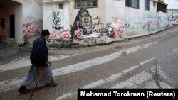 Палестинадагы качкындар лагериндеги карыя.
