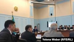 Заседание «Зеленого совета» в Темиртау, 24 января 2019 года.
