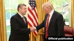 Президент США Дональд Трамп прийняв у Білому домі прем'єр-міністра Грузії Ґіорґі Квірікашвілі