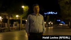 Журналист Зухеир Латиф, основатель частного телеканала Telvza. Тунис, 30 мая 2016 года.