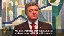Poroshenko, Putin Discuss Peace Proposals For Ukraine