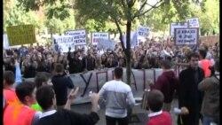 Studentski protesti u Beogradu