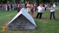 Архитектите му подарија споменик на градот Скопје