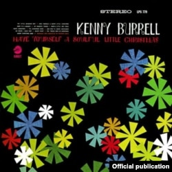 US - Christmas, Kenny Burrell, CD cover