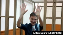 Надежда Савченко в суде на оглашении приговора