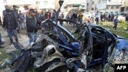 Израиль әскерилері Газа қаласына жасаған соққыдан кейінгі көрініс. Газа секторы, 9 наурыз 2012 жыл.