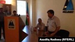Mehman Əliyevin həbsi ilə bağlı Müsavat partiyasında tədbir